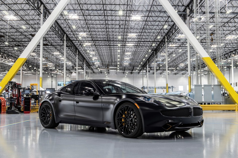 Karma Automotive's one-off Black Ocean Limited Edition features more than 80 unique treatments including a unique handcrafted finish paint, exterior and interior treatments and signatures to create a very bold and head-turning statement for its owner.