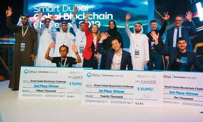 Don Ho, directeur du développement commercial de Quantstamp, a représenté la société lors du Smart Dubai Global Blockchain Challenge - photo Smart Dubai (PRNewsfoto/Quantstamp)