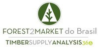 Joint Logo Forest2Market do Brasil and Timber Supply Analysis 360