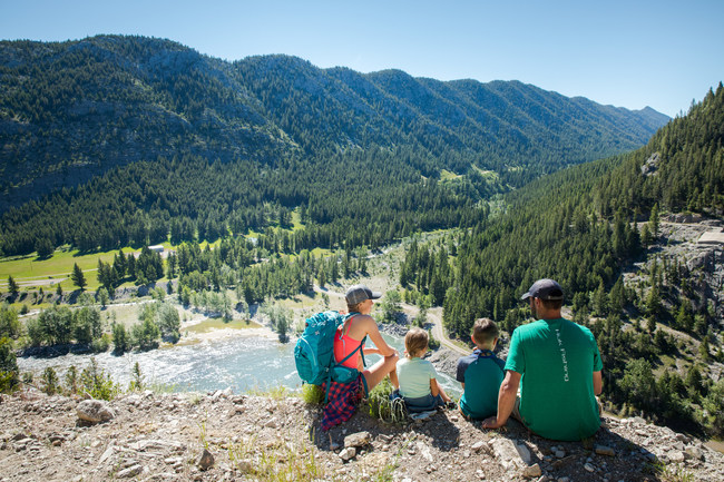Make family memories with a road trip along the Rocky Mountain Front. (Photo Courtesy: Visit Montana)