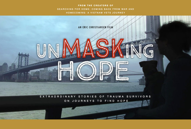 UnMASKing HOPE: Extraordinary stories of trauma survivors on journeys to find hope.