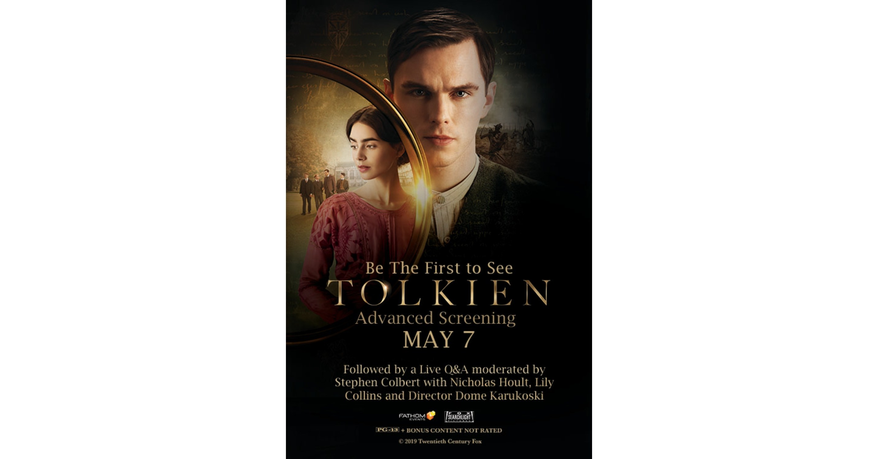 Tolkien,' From Fox Searchlight Pictures, Premieres as a One