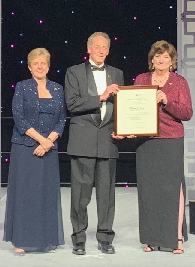 Milton L. Lee, Ph.D. (Co-Founder & Chief Science Officer of Axcend) received the Prestigious 2019 ACS Award in Analytical Chemistry from the American Chemical Society during its national meeting last week. Presenting the Award to Dr. Lee is Bonnie A. Charpentier, Ph.D., current president of the ACS (left), and Michelle V. Buchanan, Ph.D., Deputy for Science and Technology at Oak Ridge National Laboratory. For more information, visit www.AxcendCorp.com.