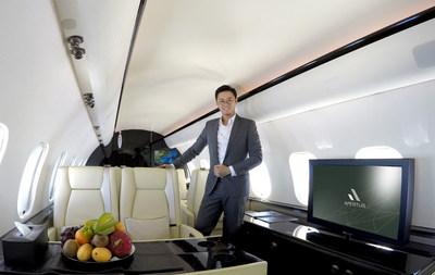 Mr. Ringo Fan, Managing Director of APERTUS Aviation