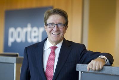 Robert Deluce nommé président exécutif de Porter Airlines dans le cadre d'une restructuration de la direction (Groupe CNW/Porter Airlines)