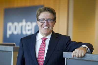 Robert Deluce appointed executive chairman at Porter Airlines as part of leadership reorganization (CNW Group/Porter Airlines)