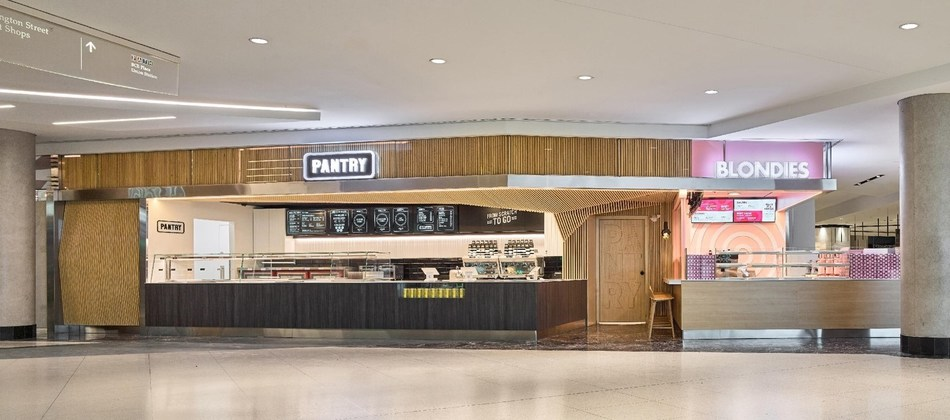 Blondies & Pantry Team Up in Toronto's PATH (CNW Group/The Food Dudes)