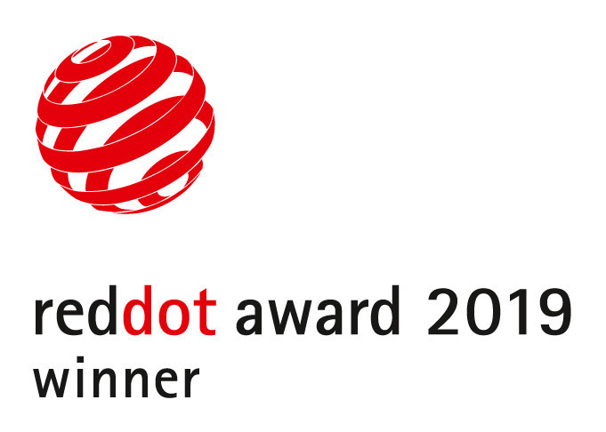 The Red Dot Award is one of the largest and most competitive awards worldwide and serves as a benchmark in design excellence.