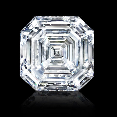 The Graff Lesedi La Rona, Largest Square Emerald Cut Diamond