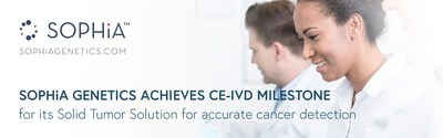 SOPHiA GENETICS Achieves CE-IVD Milestone for Its Solid Tumor Solution for Accurate Cancer Detection