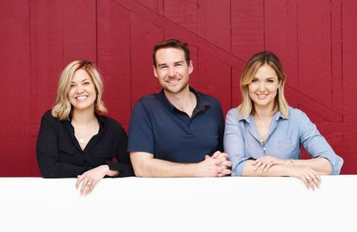 From left to right: Kate Edwards (COO and co-founder, Heartbeat), Brian Freeman (CEO and co-founder, Heartbeat), Ivka Adam (CMO, Heartbeat and CEO/Founder, Iconery)