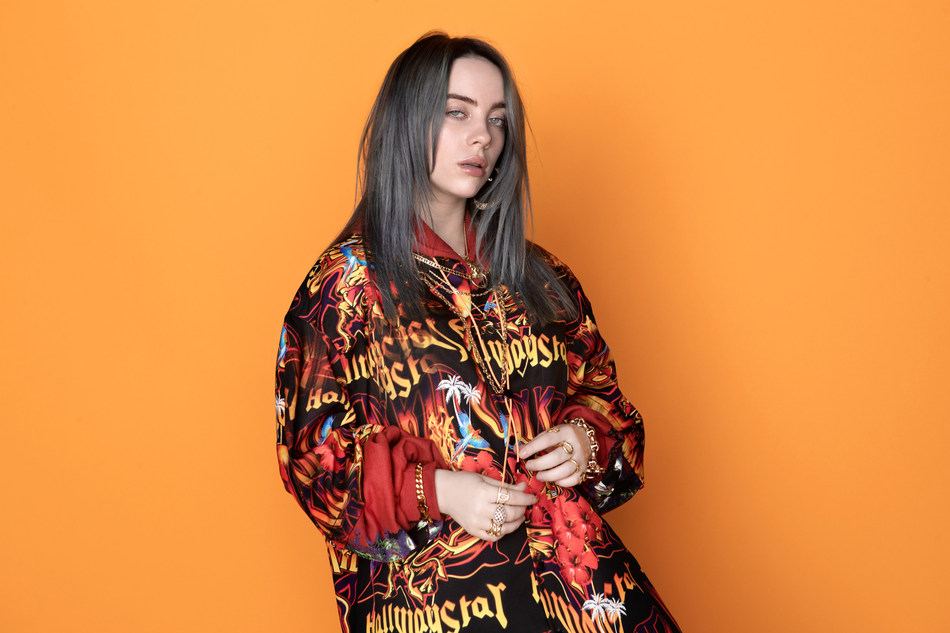 Billie Eilish (pictured) and her collaborator/producer (and brother) FINNEAS will receive the ASCAP Vanguard Award at the 2019 ASCAP Pop Music Awards on May 16 in Beverly Hills.