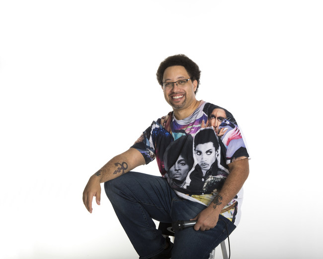 Eloy Lasanta, more widely known as YouTube's Prince's Friend heads to Minneapolis for the Prince Celebration 2019 at Paisley Park | Photo Credit: Annie Watson (Naples, FL)