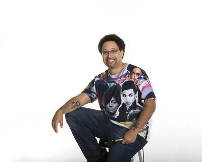 Eloy Lasanta, more widely known as YouTube's Prince's Friend heads to Minneapolis for the Prince Celebration 2019 at Paisley Park   Photo Credit: Annie Watson (Naples, FL)