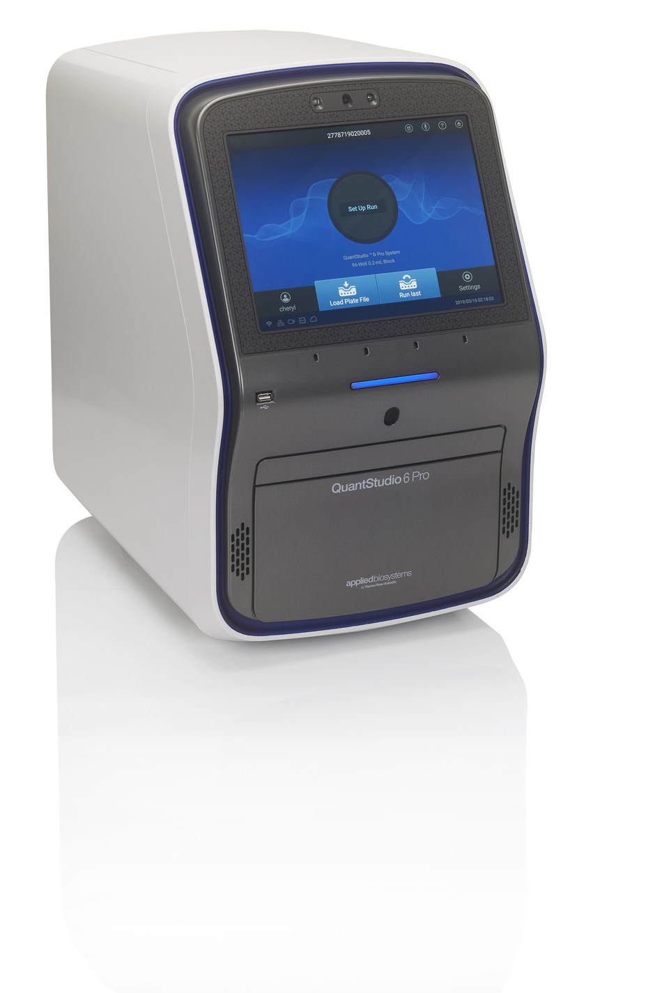 The QuantStudio 6 Pro Real-Time PCR System leverages advanced capabilities, such as facial authentication and voice-activated commands, to maximize efficiency and increase productivity in the laboratory.