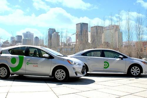 Communauto FLEX, la nouvelle image du libre-service sans réservation de Communauto (Groupe CNW/COMMUNAUTO)