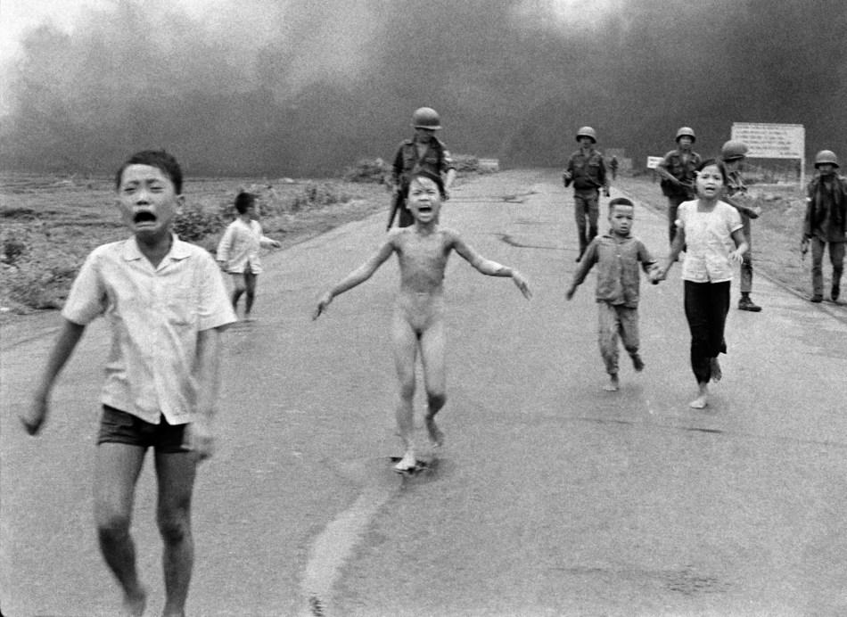 """""""The Terror of War"""" by Nick Ut"""