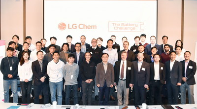 LG Chem Battery Challenge Pitch Day