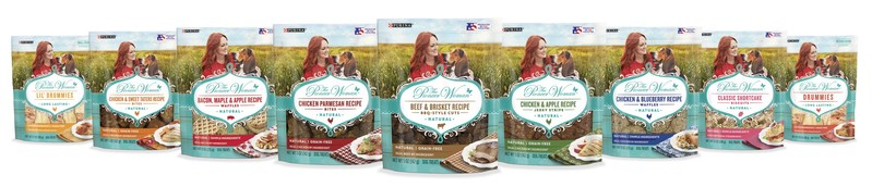 Purina® and Ree Drummond have teamed up to create The Pioneer Woman™ Dog Treats line that is made with simple, high-quality ingredients and delivers a hearty, wholesome taste that dogs love.
