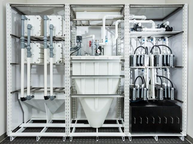 Figure 1. MGXR modular Energy Storage System (ESS) (CNW Group/MGX Minerals Inc.)