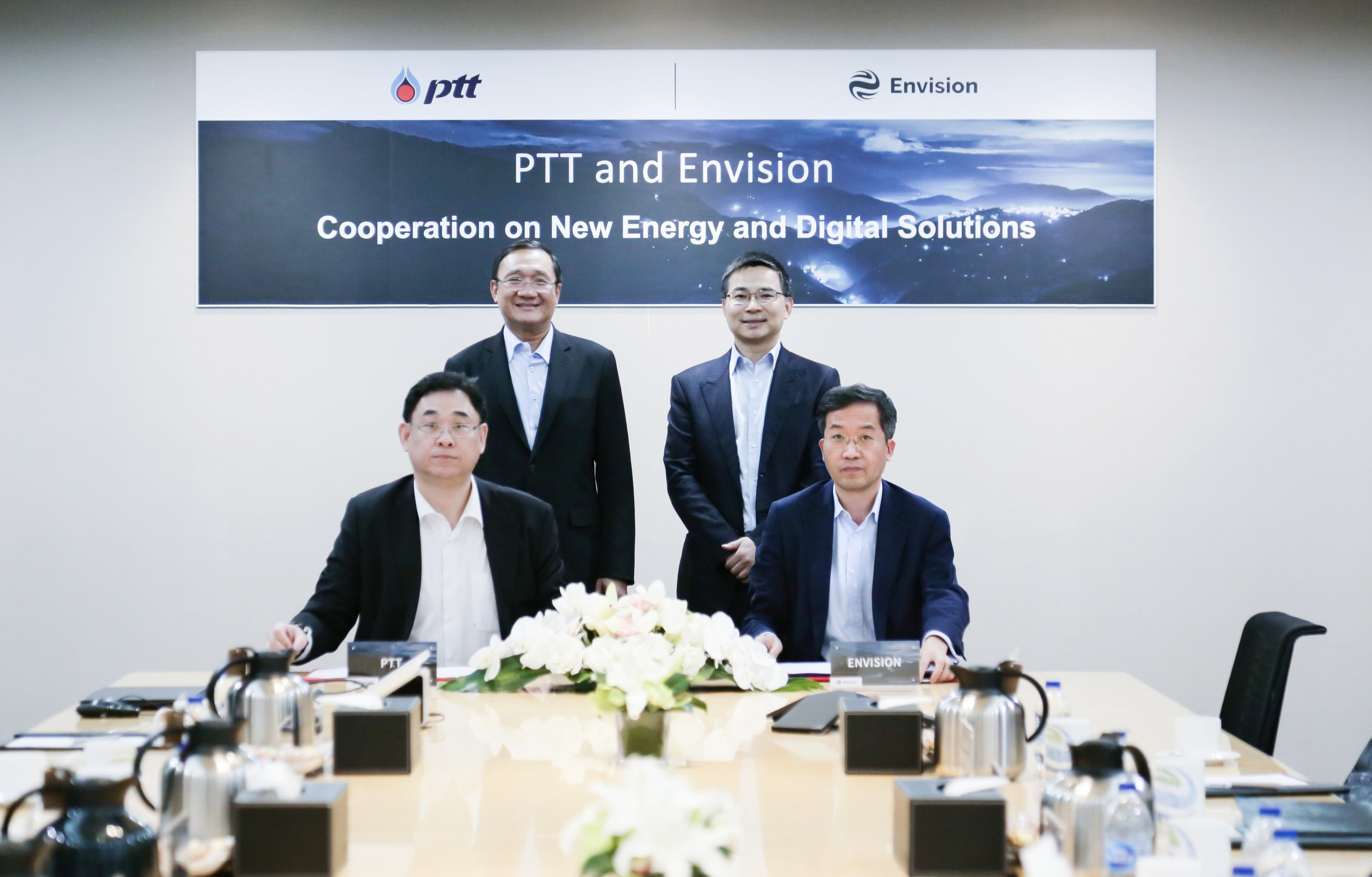 Envision and Thai Energy Giant PTT Sign MOU to Collaborate on New