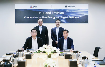 Envision and Thai Energy Giant PTT sign MOU to Collaborate on New Energy and Digital Transformation