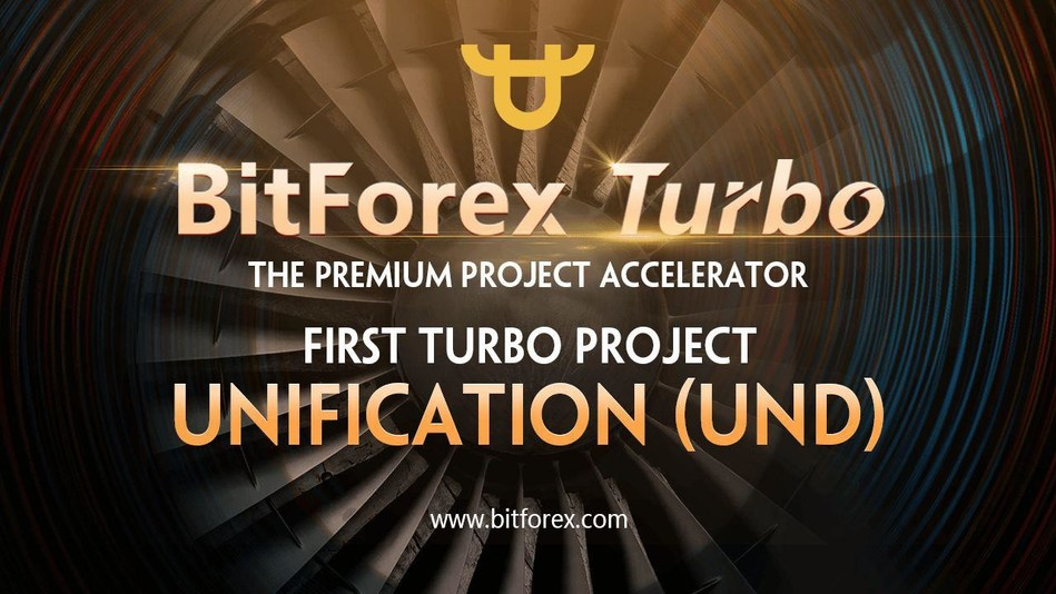 "Bitforex launches new IEO platform service ""Turbo optimization"" (PRNewsfoto/Bitforex)"