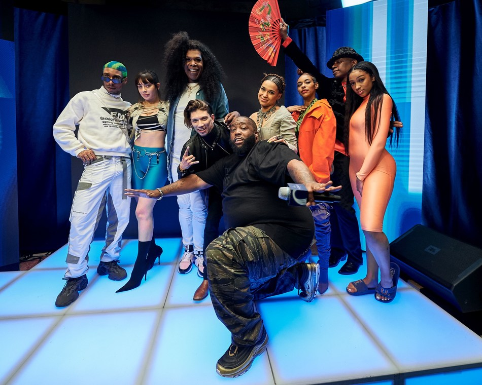 Martell Home Live-Group photo-Killer Mike, Charli XCX, Javier Ninja, Princess Nokia, Big Freedia