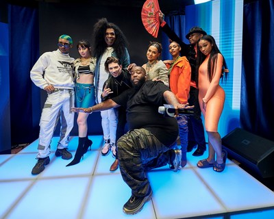 : Martell Home Live-Group photo-Killer Mike, Charli XCX, Javier Ninja, Princess Nokia, Big Freedia