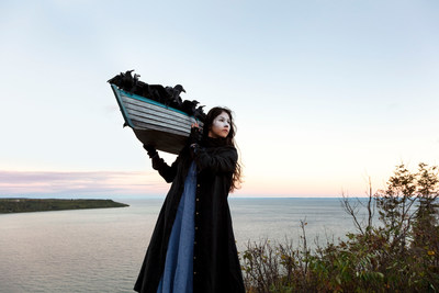 Meryl McMaster, On the Edge of This Immensity, from the series As Immense as the Sky, 2019, chromogenic print. Courtesy of the artist, Stephen Bulger Gallery, and Pierre-Francois Ouellette art contemporain. (CNW Group/Scotiabank)