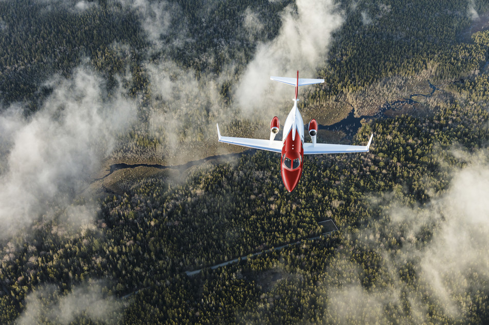 Ruby Red HondaJet Elite