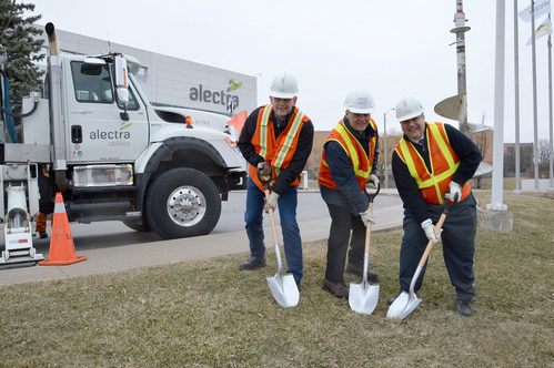 Alectra reminds customers to 'call before you dig' during ORCGA's annual Dig Safe awareness campaign (CNW Group/Alectra Utilities Corporation)