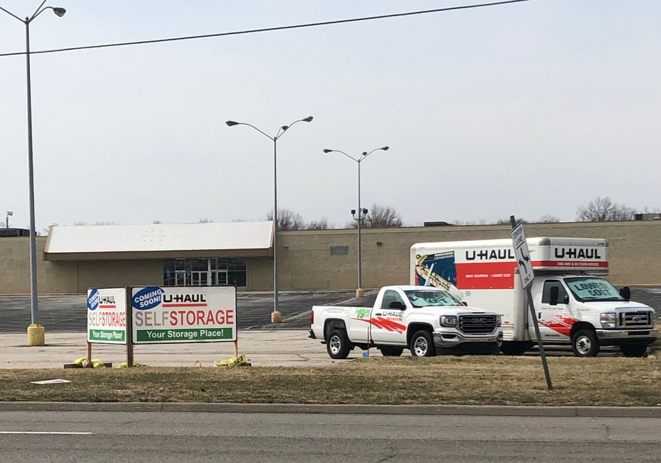 U-Haul® is revealing details for its adaptive reuse of a vacated former Kmart® store that will be transformed into the Company's first full-service facility in Leavenworth. U-Haul acquired the 12.91-acre property on March 6.