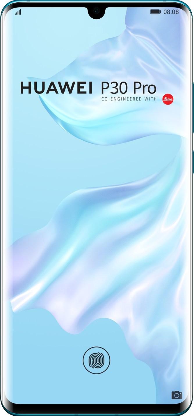 Huawei P30 Pro Front View (CNW Group/Huawei)