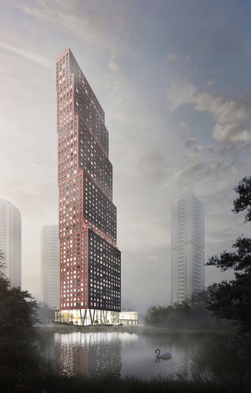 CG Tower – The tallest tower in the City of Vaughan. (CNW Group/Cortel Group)