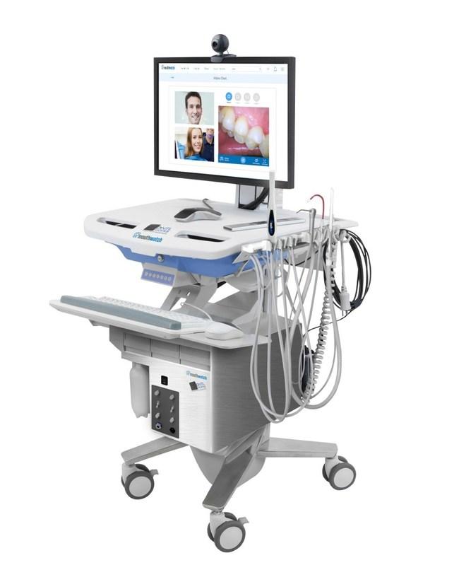 TeleDent MobileOp (artist's rendition) showing optional equipment.