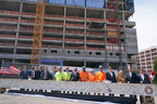 The St. Louis Cardinals and The Cordish Companies Celebrate Major Construction Milestone of $260 Million Expansion of Ballpark Village with Topping Out of Class-A Office Tower