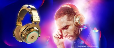 The Real Madrid Rightback Dani Carvajal in CEEK VE 4D Audio Headphones