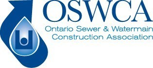 Logo: OSWCA (CNW Group/Ontario Sewer and Watermain Construction Association)