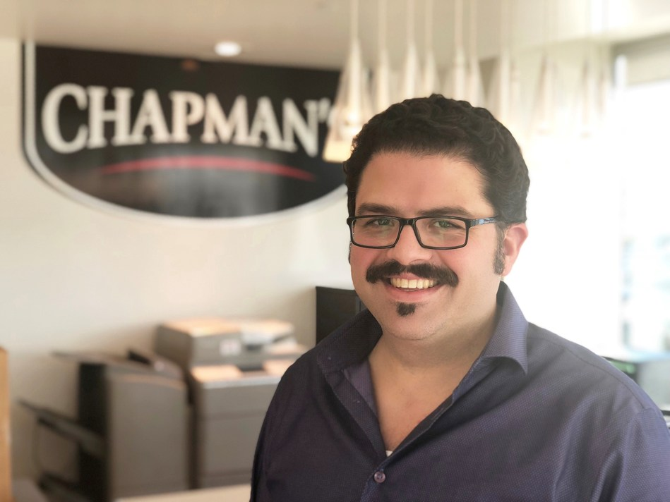 Ashley Chapman, VP of Chapman's Ice Cream at the factory in Markdale, Ontario. (CNW Group/Chapman's Ice Cream)