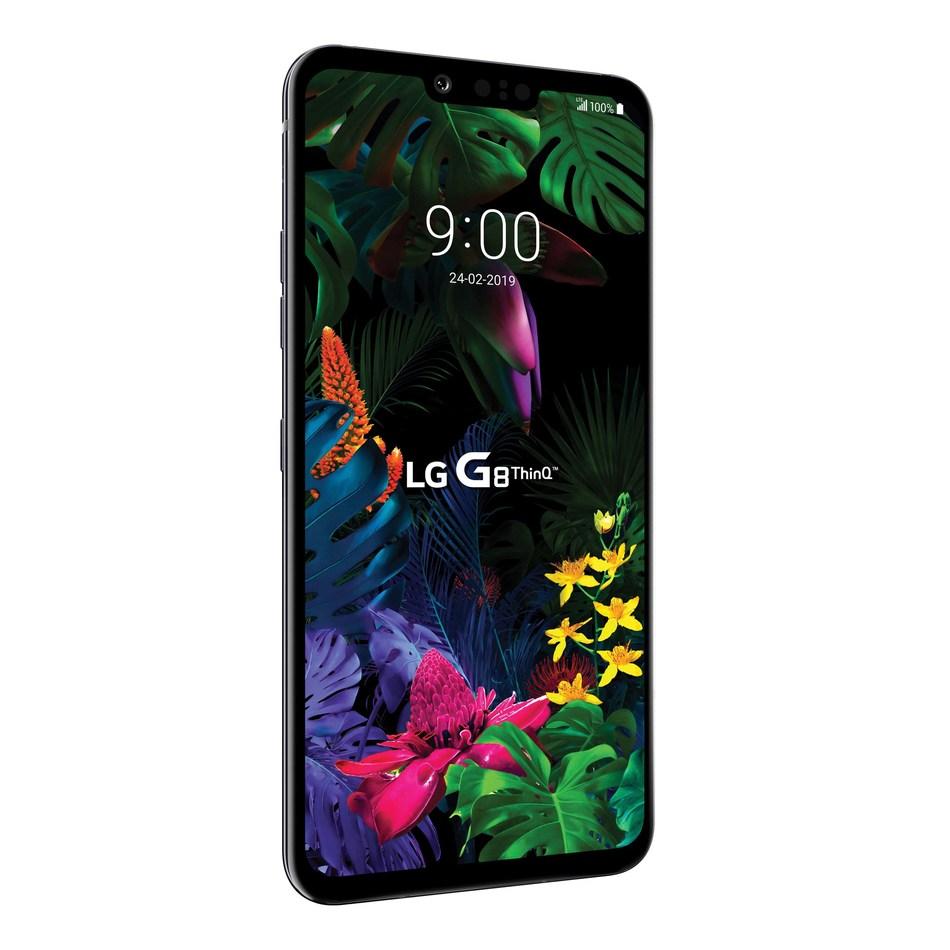 LG Electronics Canada a annoncé aujourd'hui la mise en marché du LG G8 ThinQ, le plus récent téléphone intelligent phare de l'entreprise. (Groupe CNW/LG Electronics Canada)
