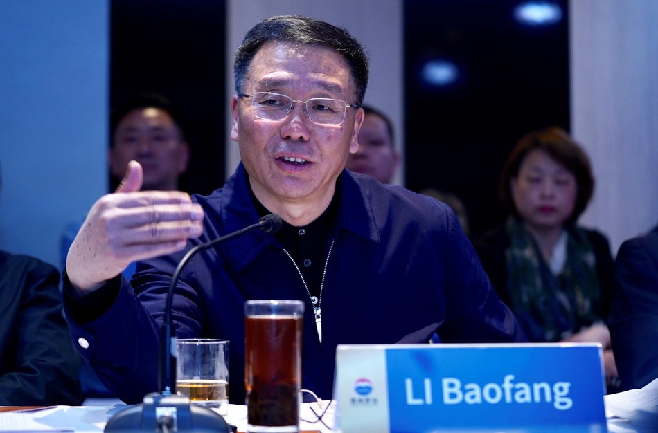 Li Baofang, presidente de la junta directiva y gerente general del Kweichow Moutai Group, y también secretario del comité del partido (PRNewsfoto/Kweichow Moutai Group)