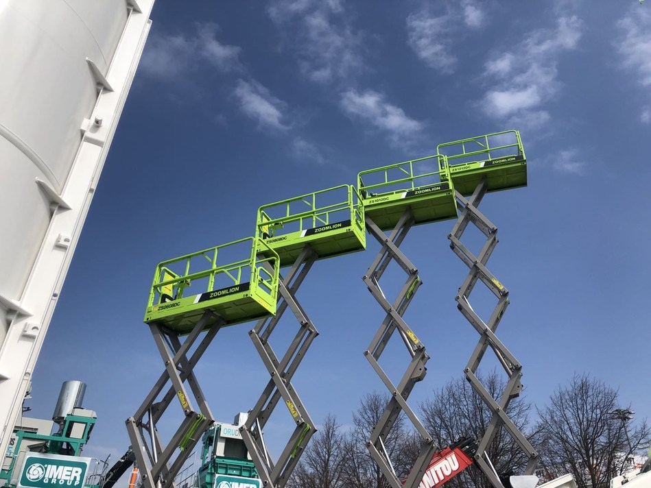 Highlighting Diversity Variety and Innovation, Zoomlion Wows bauma 2019 with New Aerial Work Platforms and Forklifts.