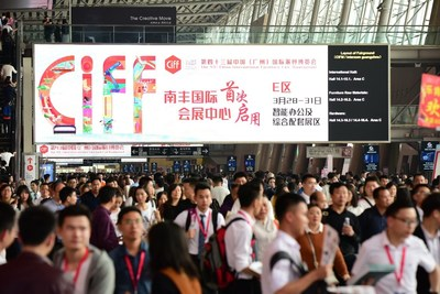 The 43rd China International Furniture Fair (Guangzhou) hosts some 300,000 professional visitors