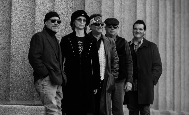 Incognito Cartel (L-R): Don Gaylord, Terri Templeman, Tom Templeman, Frank Larkin, Steve Rempis
