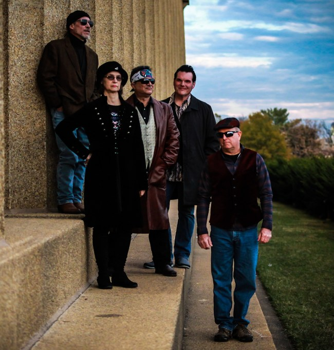 Incognito Cartel (L-R): Don Gaylord, Terri Templeman, Tom Templeman, Steve Rempis, Frank Larkin