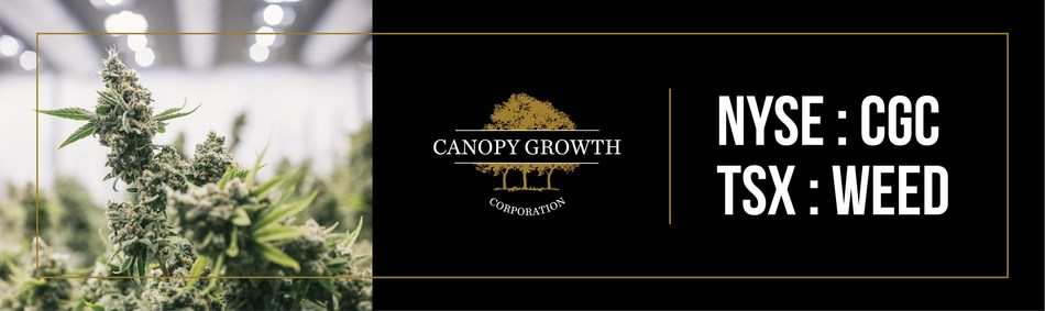 Canopy Growth to join the S&P/TSX 60 Index (CNW Group/Canopy Growth Corporation)