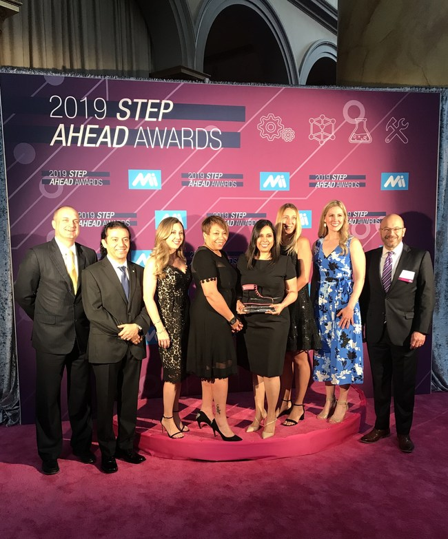 The STEP Ahead award honors women who have demonstrated excellence and leadership in their careers, and represent all levels of the manufacturing industry.