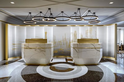 Private Reception Area within Fairmont Gold Lounge (CNW Group/Fairmont Royal York)