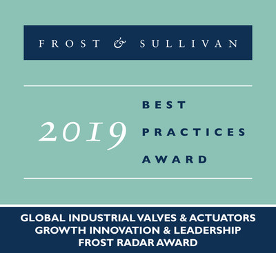 Emerson Commended by Frost & Sullivan for Its Comprehensive Portfolio of Final Control Technologies